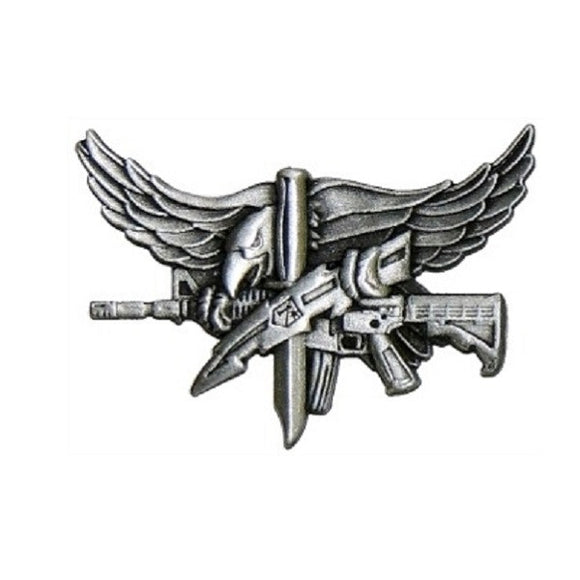 SWAT Operator Pin - Antique Silver