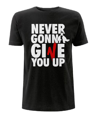 'Never Gonna Give You Up' V Festival T-Shirt
