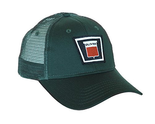 Keystone Oliver Green Hat with Mesh Back - tractorup2