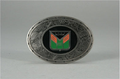 Oliver Western Logo Pewter Belt Buckle