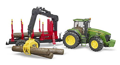 Bruder 09821 John Deere 7930 Forestry and Farm Tractor