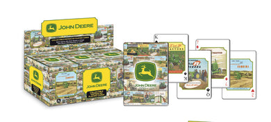 John Deere Collectible Vintage Ad Playing Cards - tractorup2