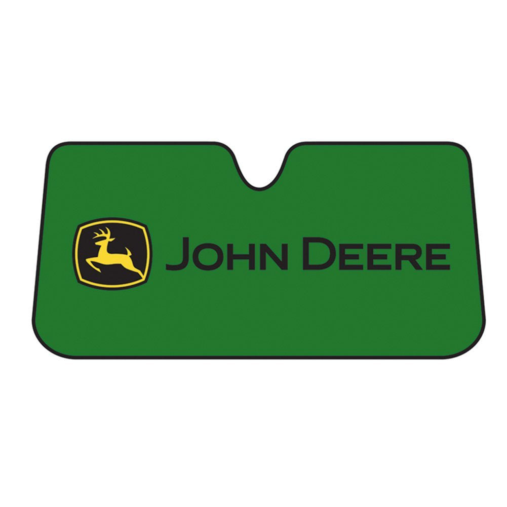 John Deere Vehicle Sun Shade - tractorup2