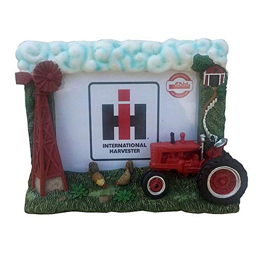 International Harvester 6x5 Inch Windmill Resin Picture Frame - tractorup2