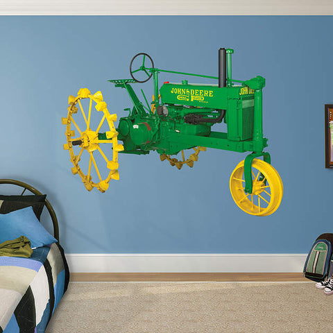 John Deere 1936 Model B Tractor Tractor Peel and Stick Decal Fathead