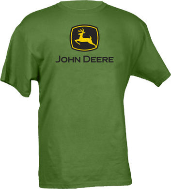 John Deere Short Sleeved Kelly Green T-Shirt - tractorup2