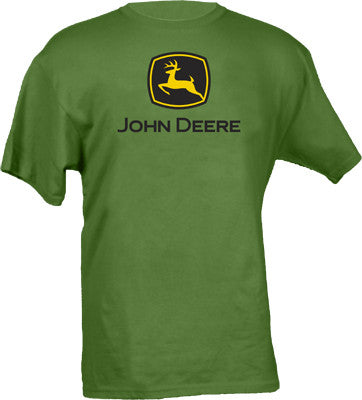 John Deere Short Sleeved Kelly Green T-Shirt