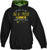 "John Deere ""Property Of"" Black Hooded Sweatshirt"