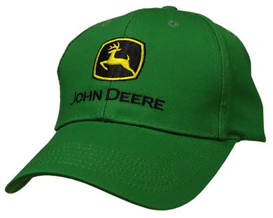 John Deere Kelly Green Basic Hat - tractorup2