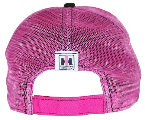 Case IH Two Toned Distressed Pink Hat
