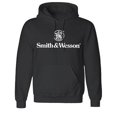 Smith & Wesson Pullover Black Hooded Sweatshirt