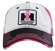 Case IH Two Toned Distressed Pink Hat - tractorup2
