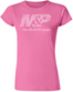 M&P by Smith & Wesson Ladies Azalea  Distressed Logo T-Shirt