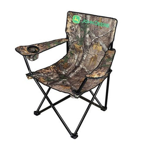 John Deere Big Man Camo Adult Camp Chair