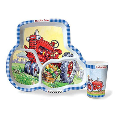 Farmall IH Tractor Mac Two-Piece Dinner Set - tractorup2