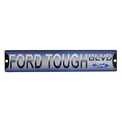 Ford Tough Blvd Metal Sign - 20