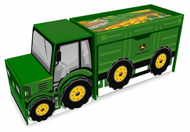 John Deere Tractor Toy Box Set - tractorup2