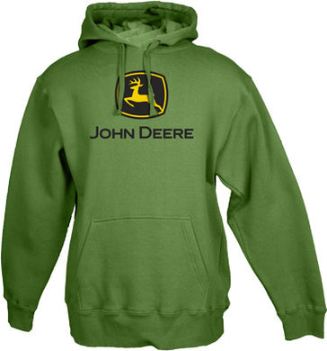 John Deere Green Hooded Sweatshirt - tractorup2