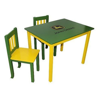 John Deere Green Table And Chair Set - tractorup2