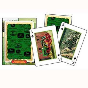 John Deere Collectible Tractor Playing Cards - tractorup2