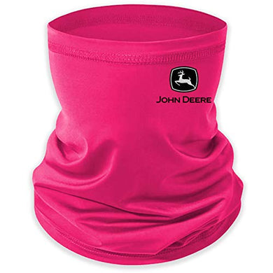 John Deere Hot Pink Neck Gaiter/Face Mask