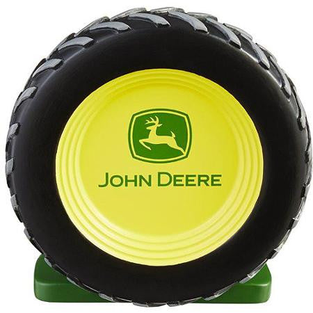 John Deere Tractor Tire Shaped Toothbrush Holder