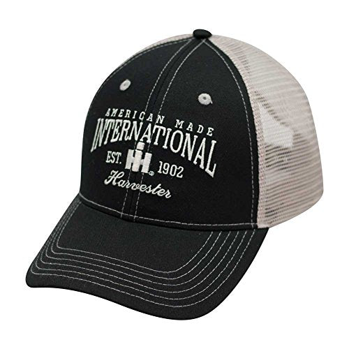 International Harvester Two Tone Mesh Back Trucker Cap - tractorup2
