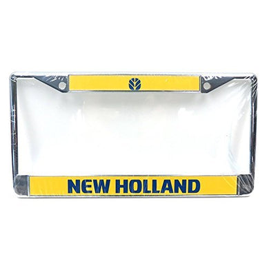 New Holland License Plate Holder - tractorup2