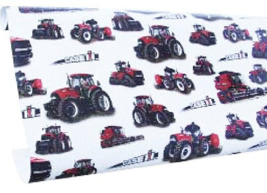 Case IH 10' Wrapping Paper Roll In White - tractorup2