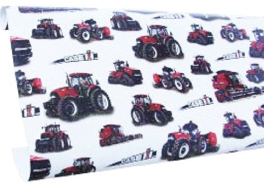 Case IH White Wrapping Paper
