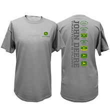 John Deere Tractors & Plows Short Sleeve Mens T-Shirt