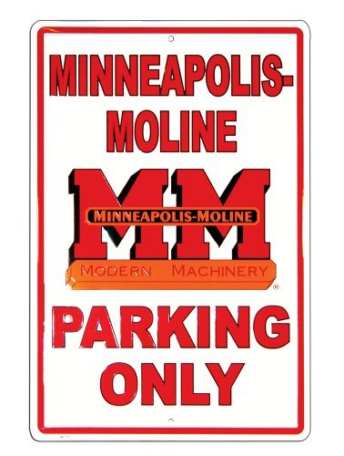 Minneapolis-Moline Parking Sign