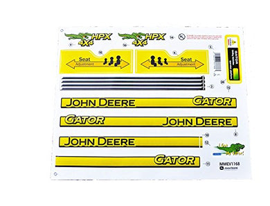 John Deere HPX Gator Decal Set