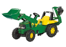 John Deere Riding Pedal Tractor With Backhoe