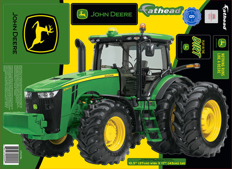 "John Deere 8360R 10""x17"" FatHead Peel and Stick Decal"