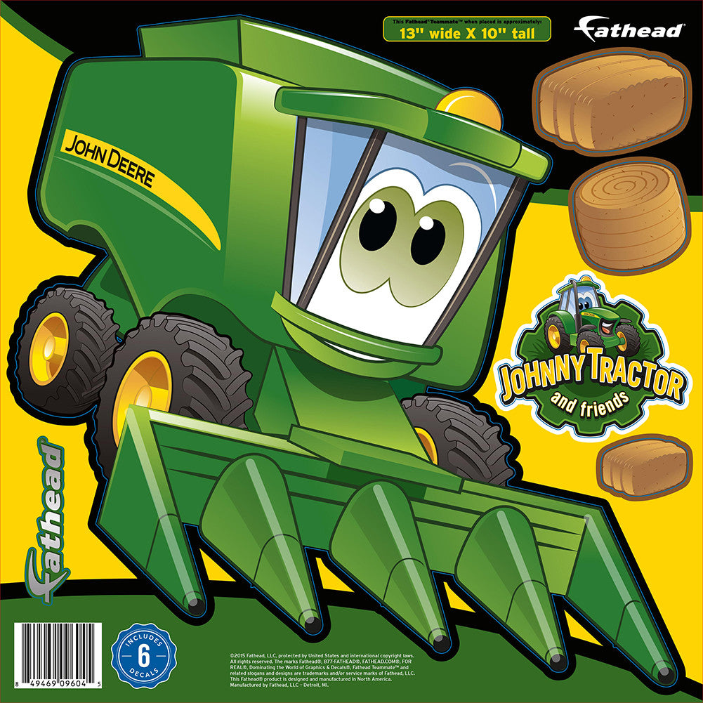John Deere Cartoon Combine 13