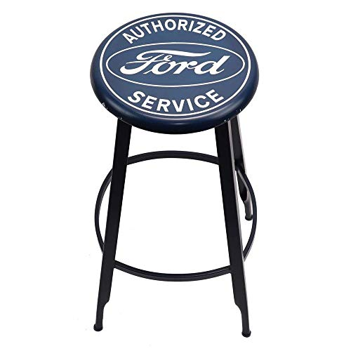 Ford Service Metal Stool - tractorup2