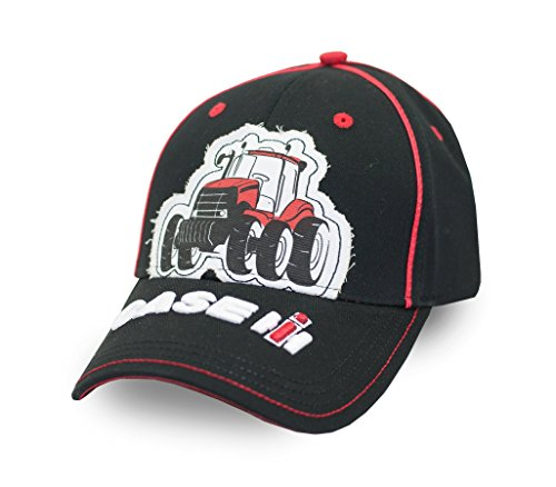 Case IH Toddler Black Tractor Cap
