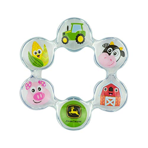 John Deere Lamaze Chill Teethers, Pack of 2, Ages 0+, LP73961 - tractorup2