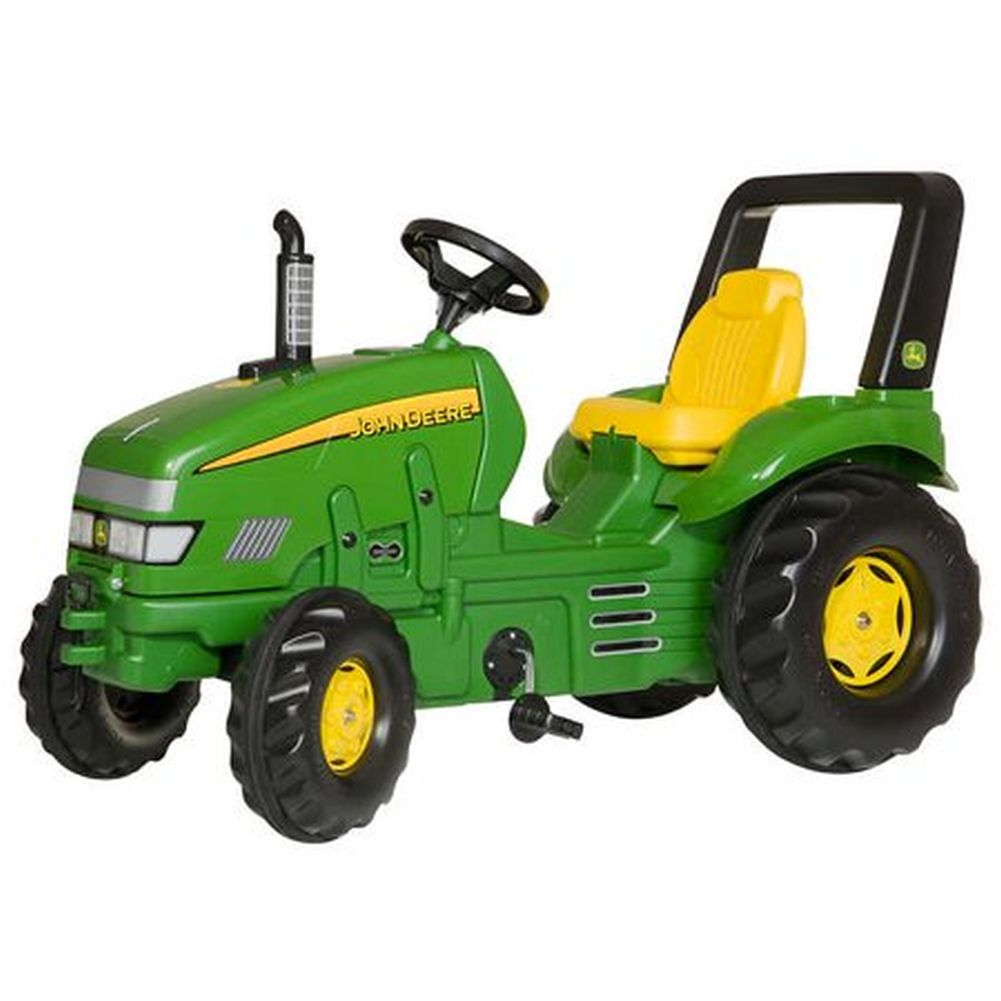 John Deere X-Trac Pedal Tractor With Loader - tractorup2