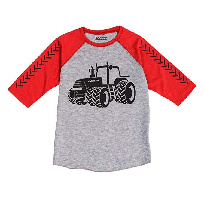 Case IH Magnum Outline Toddler Long Sleeve Tee - tractorup2
