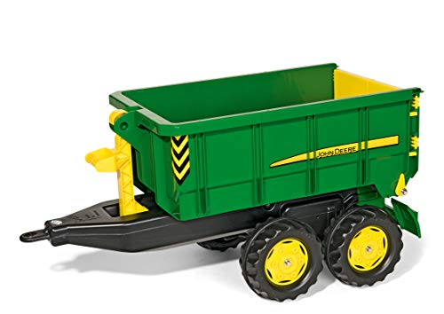 Rolly Toys Rolly John Deere Container Truck Trailer - tractorup2