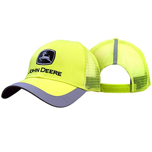 John Deere Construction Cap Hi-Viz Yellow