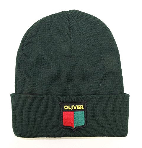 Vintage Logo Split-Shield Oliver Knit Hat