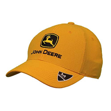 John Deere Memory Fit - Construction Yellow Hat