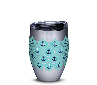 Tervis Stainless Steel Tumbler Anchors and Scallops Pattern - tractorup2