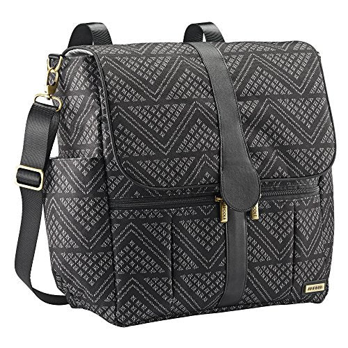 JJ Cole Backpack, Black Aztec - tractorup2