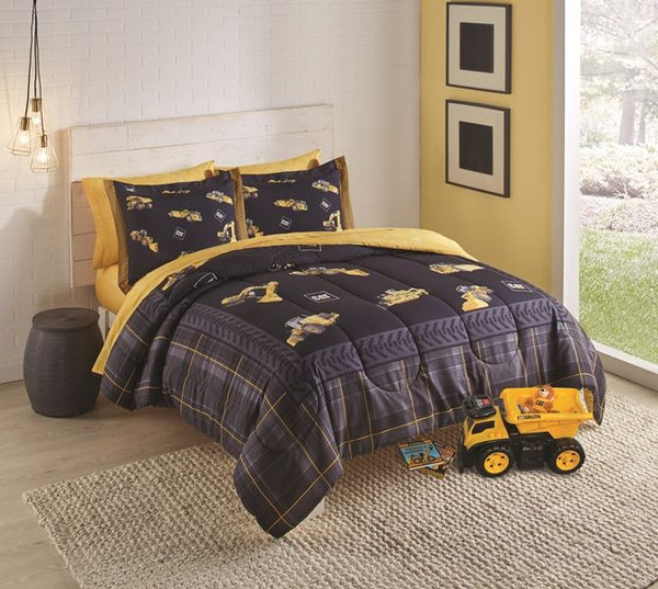 Caterpillar CAT Twin Comforter Set w/Sham
