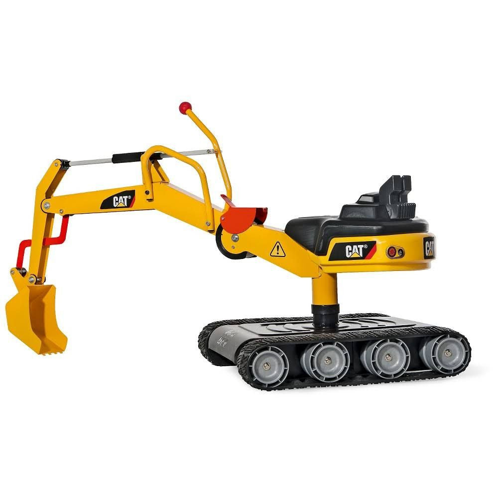 Kettler Riding  Cat Metal Digger with Treads - tractorup2