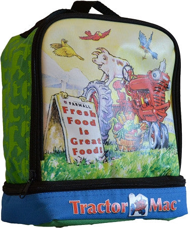 Farmall Tractor Mac Lunch Cooler Tote